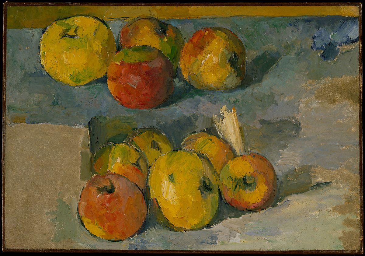 Cezanne, Apples