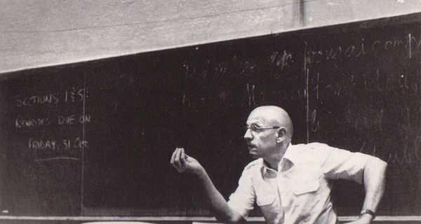 Foucault Lecturing at Berkeley