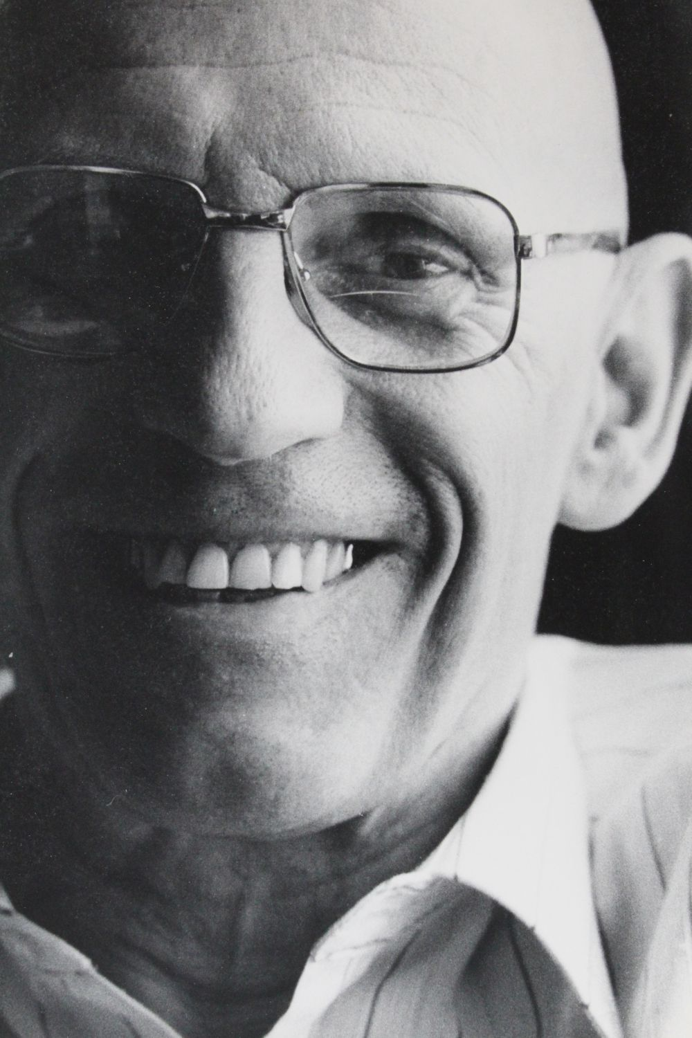 Portrait of Foucault by Bruno de Mones